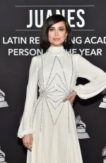 SOFIA CARSON at Latin Recording Academy Person of the Year Gala in Las Vegas 11/13/2019