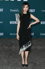 SOFIA CARSON at Midway Premiere in Westwood 11/05/2019