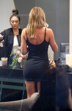 SOFIA RICHIE in Tight Mini Dress at Nine Zero One Salon in West Hollywood 11/18/2019