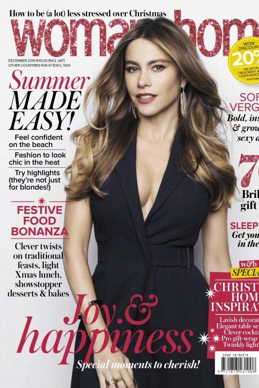 SOFIA VERGARA in Woman & Home Magazine, South Africa December 2019