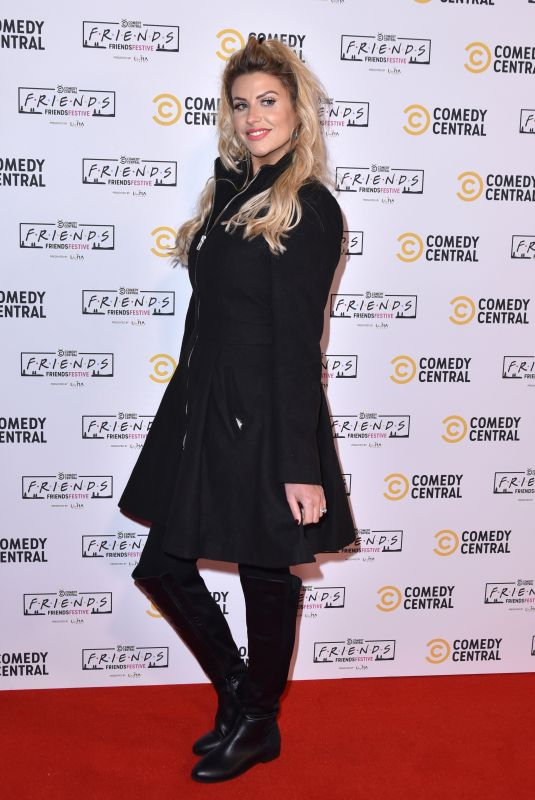 SOPHIE HINCHLIFFE at Comedy Central Friends Festive Exhibition Launch in London 11/28/2019
