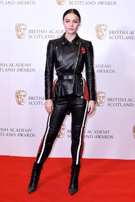 SOPHIE SKELTON at Bafta Scotland Awards in Glasgow 11/03/2019