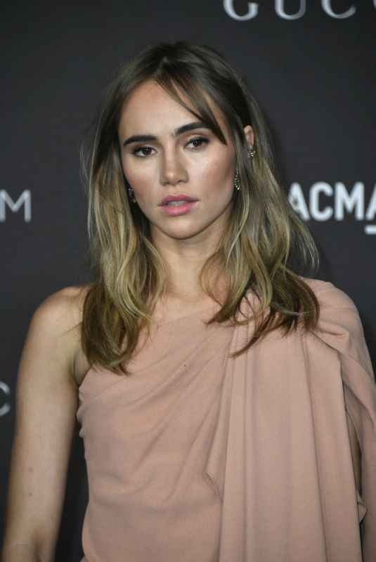 SUKI WATERHOUSE at 2019 Lacma Art + Film Gala Presented by Gucci in Los Angeles 11/02/2019