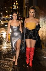 TALULAH EVE and AMEL RACHEDI Night Out in London 11/23/2019