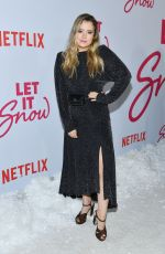 TAYLOR SPREITLER at Let It Snow Premiere in Los Angeles 11/04/2019