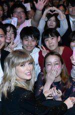 TAYLOR SWIFT at a Fan Event in Tokyo 11/06/2019