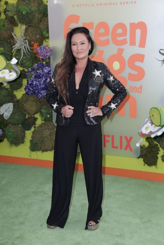 TIA CARRERE at Green Eggs and Ham Premiere at Hollywood American Legion 11/03/2019
