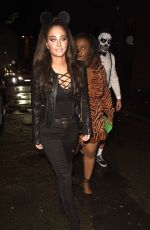 TULISA CONTOSTAVLOS at Plt Halloween Party in Manchester 10/31/2019