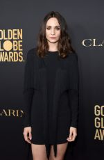 TUPPENCE MIDDLETON at HFPA & THR Golden Globe Ambassador Party in West Hollywood 11/14/2019