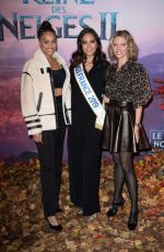 VAIMALAMA CHAVES at Frozen 2 Premeire in Paris 11/13/2019