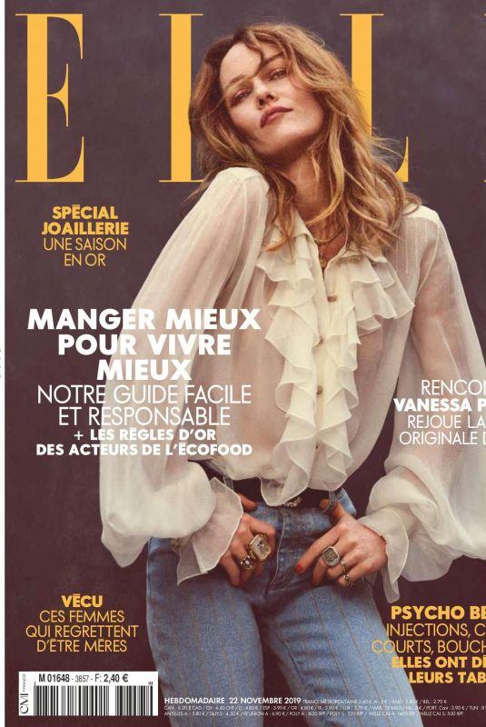 VANESSA PARADIS in Elle Magazine, France November 2019