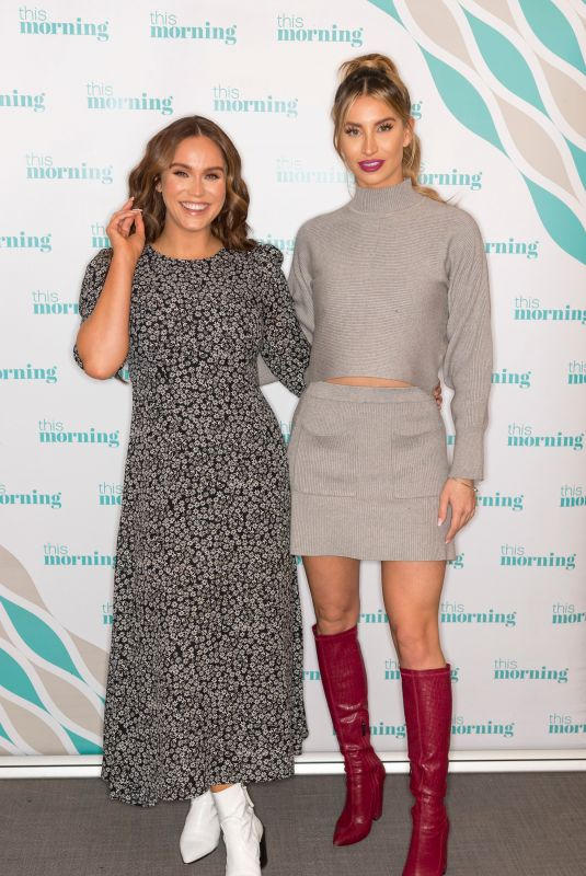 VICKY PATTISON and FERNE MCCANN at This Morning Show in London 11/20/2019