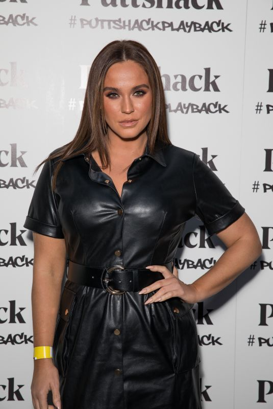 VICKY PATTISON at Puttshack Launch in London 11/22/2019