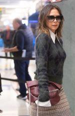 VICTORIA BECKHAM at JFK Airport in New York 11/05/2019