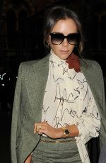 VICTORIA BECKHAM Out in London 11/15/2019