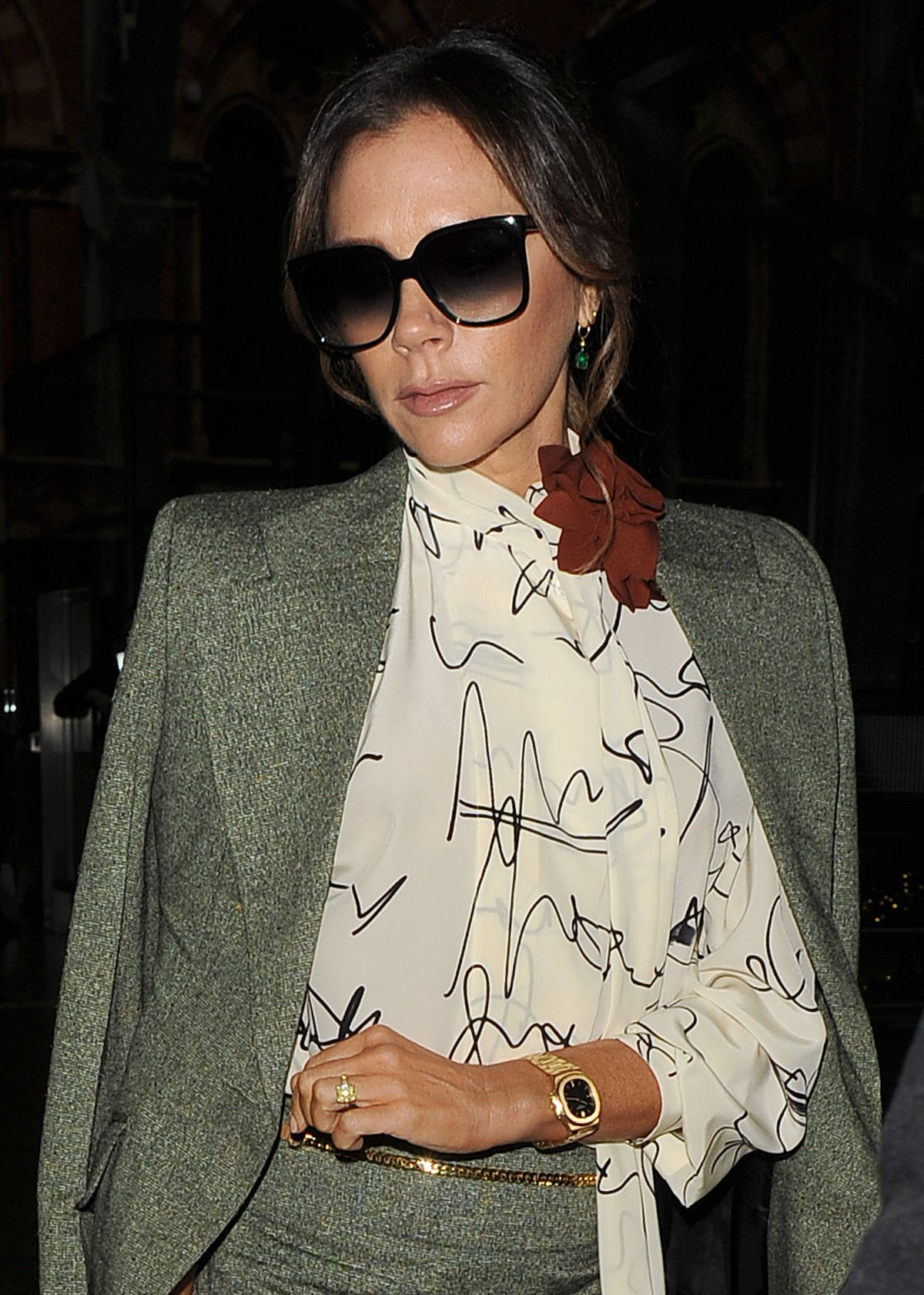 VICTORIA BECKHAM Out in London 11/15/2019 – HawtCelebs