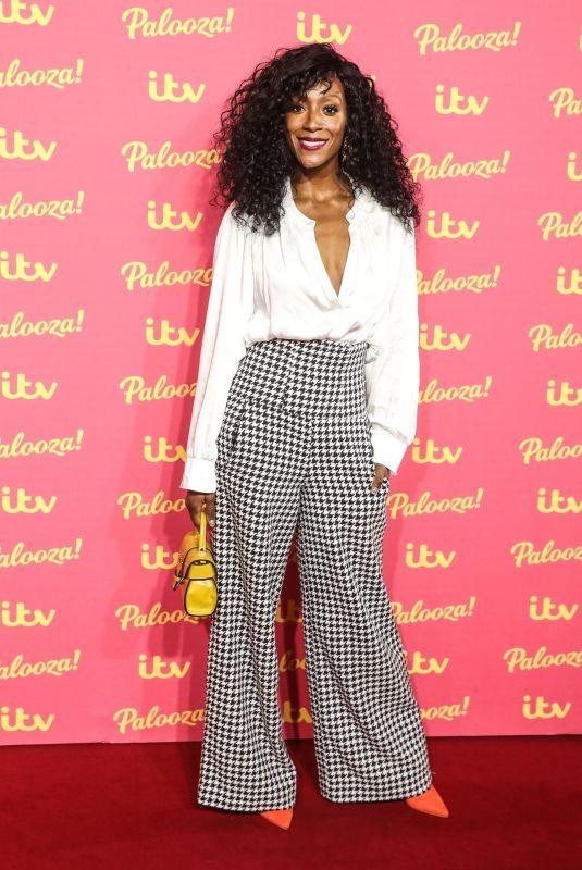 VICTORIA EKANOYE at ITV Palooza 2019 in London 11/12/2019