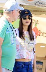 VICTORIA JUSTICE Shopping at Farmers Market in Los Angeles 11/17/2019