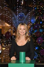 VIRGINIE EFIRA at La Ruche De Noel Christmas Decorations Inauguration in Paris 11/20/2019