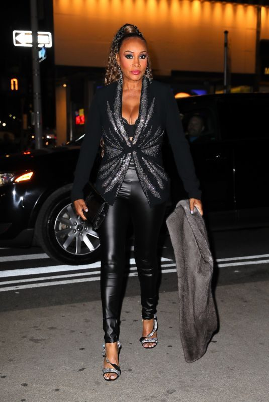 VIVICA FOX Arrives at Ovarian Cancer Research Alliance Presents Style Lab in New York 11/06/2019