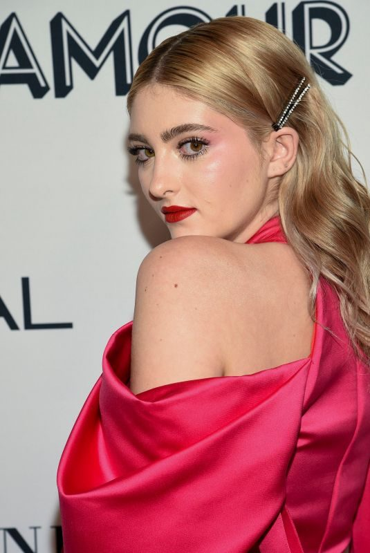 WILLOW SHIELDS at 2019 Glamour Women of the Year Awards in New York 11/11/2019
