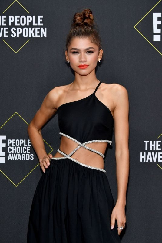 ZENDAYA COLEMAN at People's Choice Awards 2019 in Santa Monica 11/10/2019