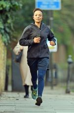 ADELE ROBERTS Out Jogging in London 12/29/2019