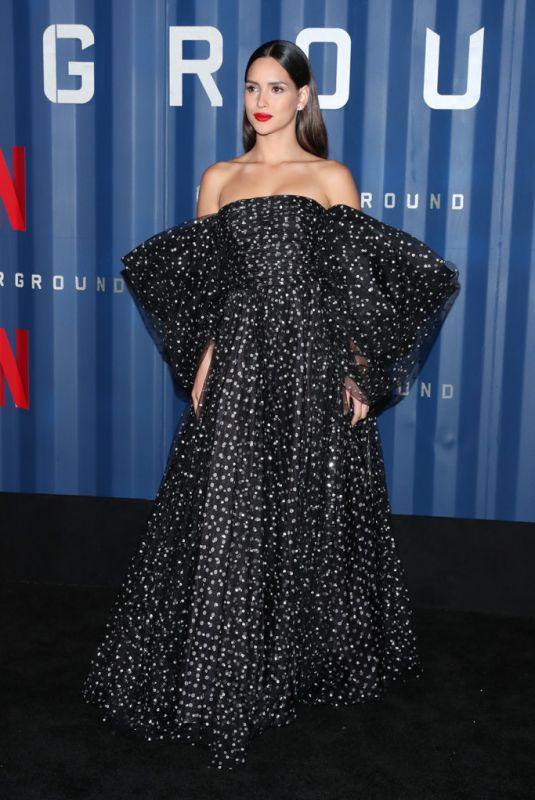 ADRIA ARJONA at 6 Underground Premiere in New York 12/10/2019