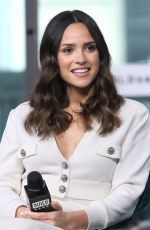 ADRIA ARJONA at AOL Build Series in New York 12/11/2019