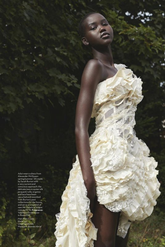 ADUT AKECH for Vogue Magazine, Australia January 2020