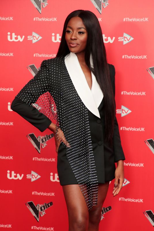 AJ ODUDU at The Voice Photocall in London 12/16/2019