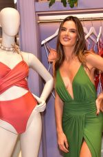 ALESSANDRA AMBROSIO at Her Bikini Brand Gal Floripa Swimwear Store Opening in Sao Paulo 12/10/2019