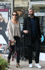 ALESSANDRA AMBROSIO Out for Sushi in West Hollywood 12/03/2019