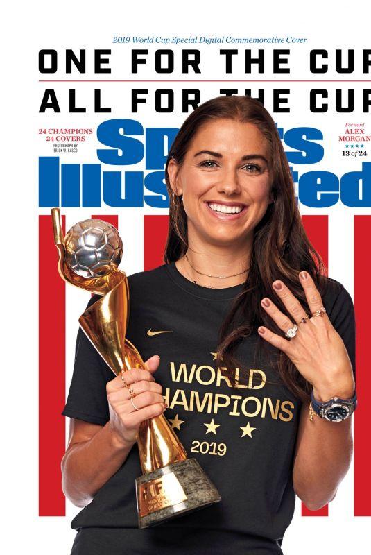 ALEX MORGAN in Sports Illustrated, July 2019