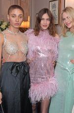 ALEXA CHUNG at Netflix & British Vogue Dinner Celebrating Bafta Breakthrough Brits in London 12/09/2019