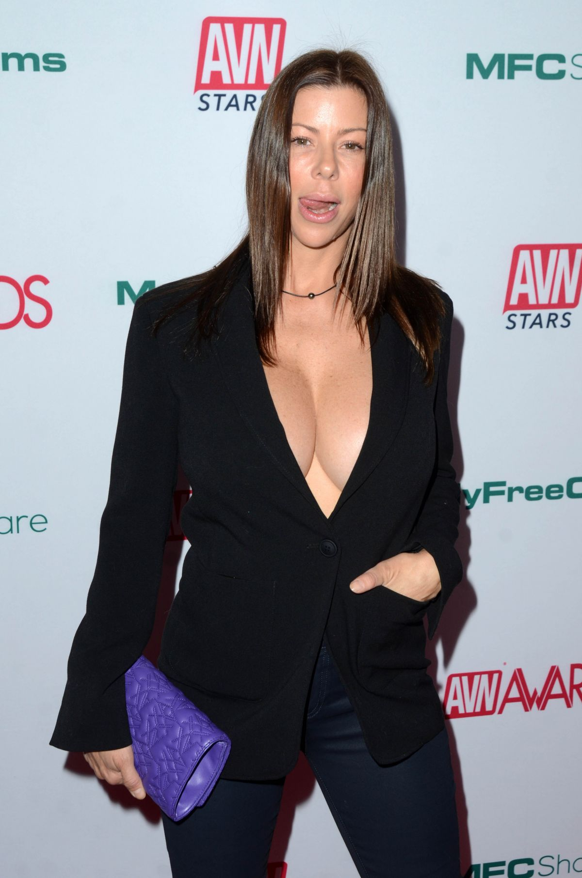 ALEXIS FAWX at AVN Awards Nominations Announcement in
