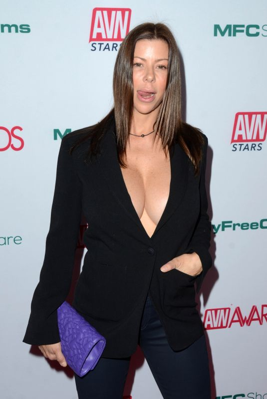 ALEXIS FAWX at AVN Awards Nominations Announcement in Hollywood 11/21/2019