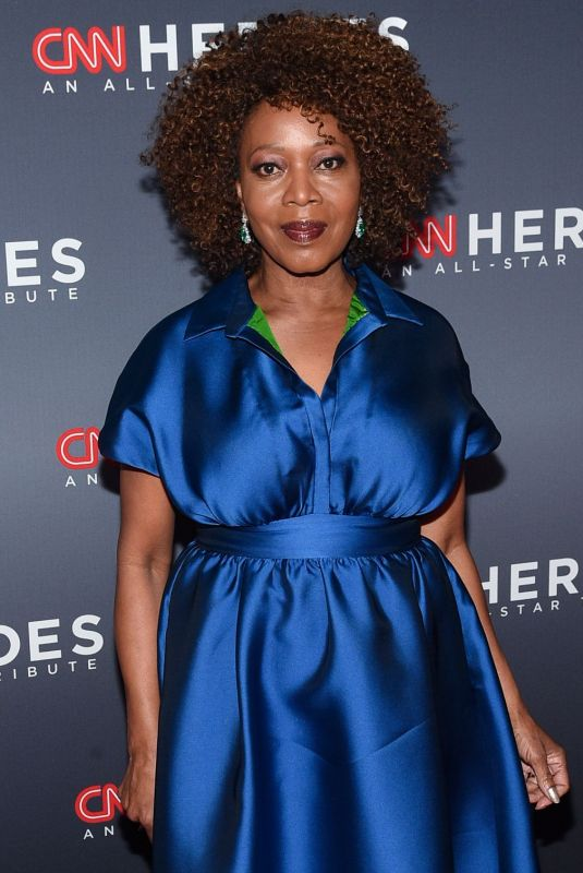 ALFRE WOODARD at CNN Heroes 2019 in New York 12/08/2019