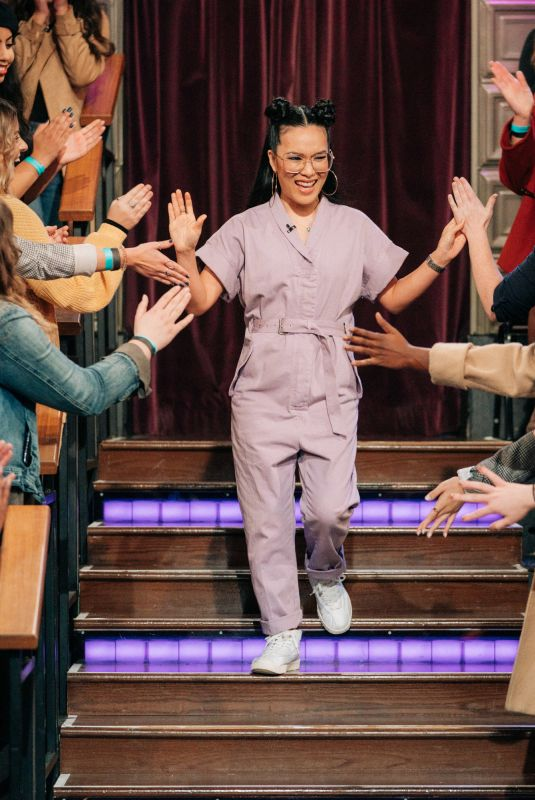 ALI WONG at Late Late Show with James Corden 12/09/2019