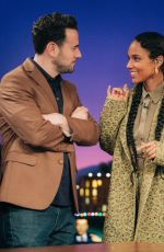 ALICIA KEYS at Late Late Show with James Corden 12/09/2019