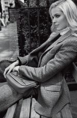 ALISA AHMANN in Elle Magazine, Italy December 2019