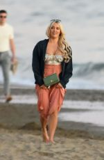 AMBER TURNER Out on the Beach in Marbella 12/29/2019