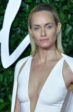 AMBER VALLETTA at Fashion Awards 2019 in London 12/02/2019