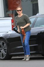 AMY ADAMS Out and About in West Hollywood 12/08/2019