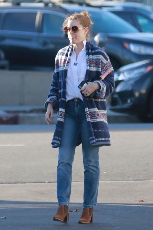 AMY ADAMS Out Shopping in Los Feliz 12/15/2019