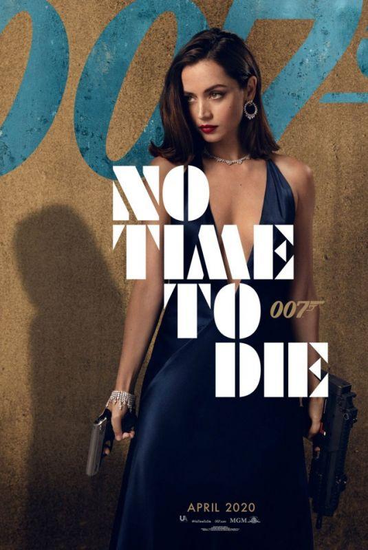ANA DE ARMAS - No Time To Die (2020) Poster
