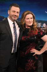 ANA GASTEYER at Jimmy Kimmel Live 12/04/2019