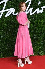 ANGELA SCANLON at Fashion Awards 2019 in London 12/02/2019