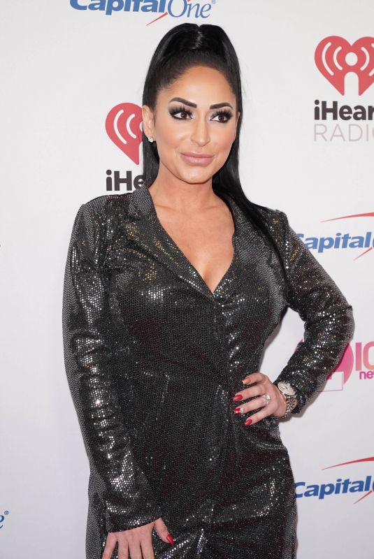 ANGELINA PIVARNICK at Z100's Iheartradio Jingle Ball 2019 in New York 12/13/2019