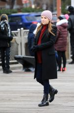 ANNA KENDRICK on the Set of Love Life 12/16/2019